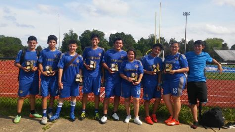 World Languages Department Holds Fifth Annual Co-Ed Soccer Tournament