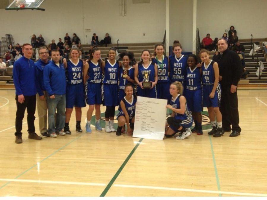 Girls Basketball Team Wins Holiday Tournament