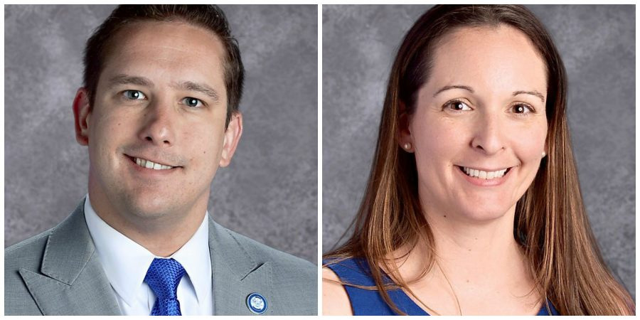 Principal Alexander Case and Assistant Principal Michelle Lyttle on Leave