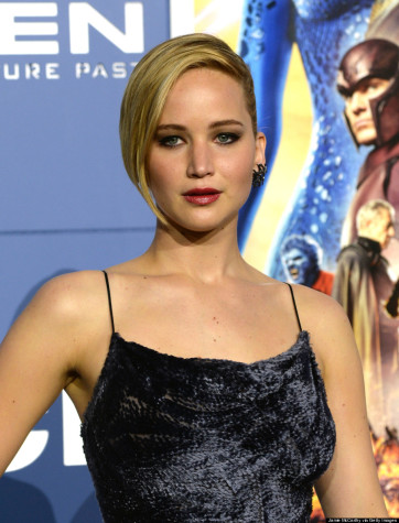 Jennifer Lawrence in May 2014