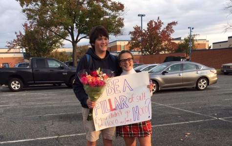 Public Homecoming Proposals Become the Standard at West Potomac