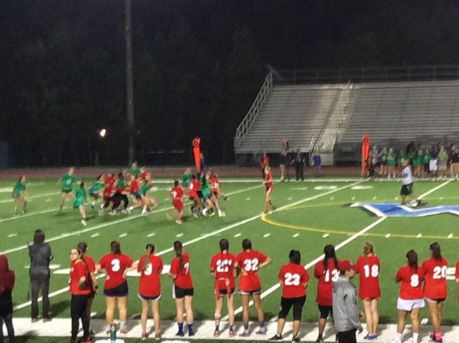 Juniors Upset Seniors in Annual Powderpuff Game, 8-0