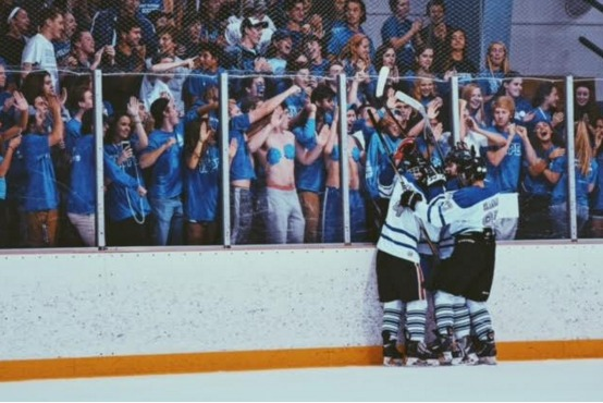The turnout for hypesquad was better than the ice hockey team could have ever hoped.