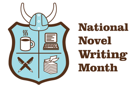 November is NaNoWriMo, or National Novel Writing Month.