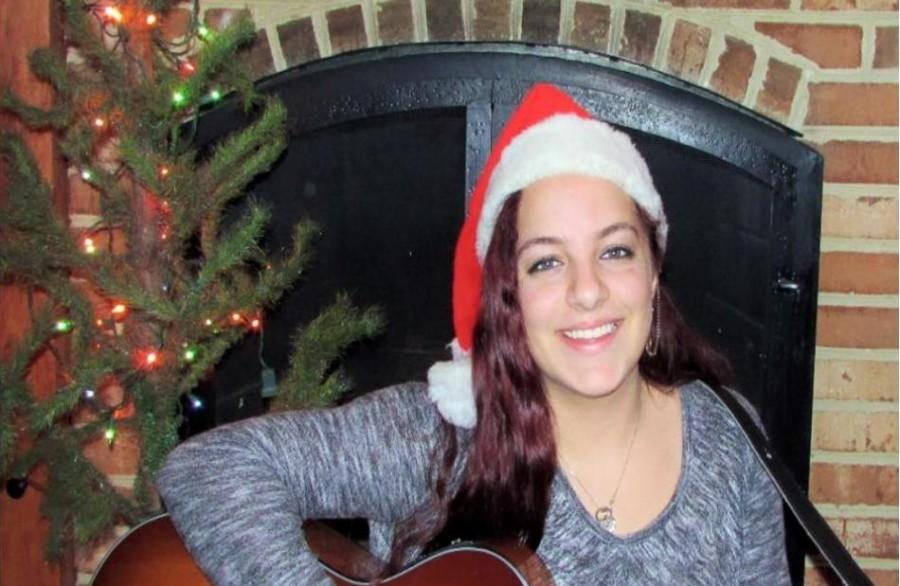 Spotlight shines on sophomore Adrianna DeLorenzo, an aspiring singer.