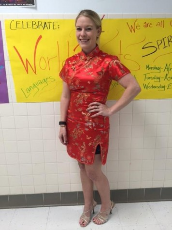 Spanish teacher Brittany White