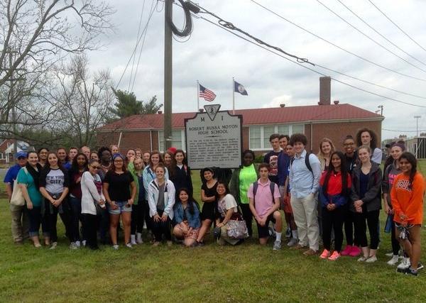 AP U.S. History Field Trip Leaves Deep Impression on Students and Teachers Alike