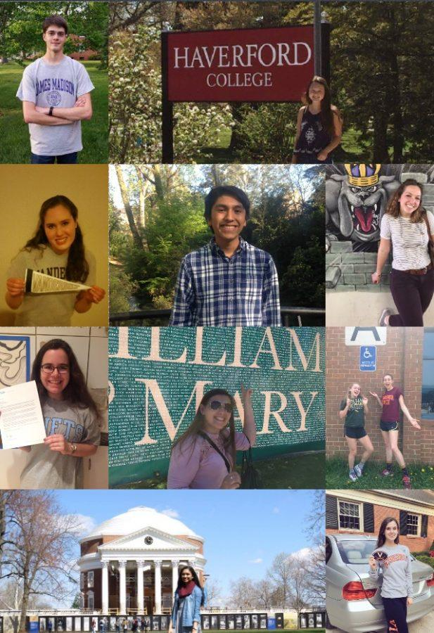 West Potomac seniors have been accepted everywhere from James Madison University to Haverford College.