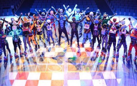 (Courtesy @Westpotheatre on Twitter) The Starlight Express Cast on their opening night.
