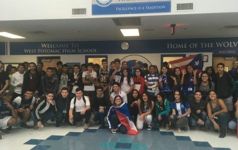 Hispanic Leadership Club Celebrates Heritage Month with School-Wide Parade