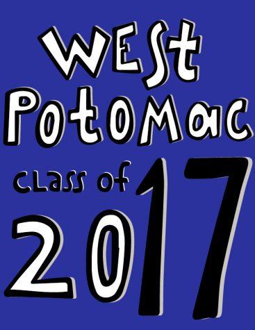 The front of the Class of 2017 senior shirt. Courtesy: Veronica Webb, senior shirt designer
