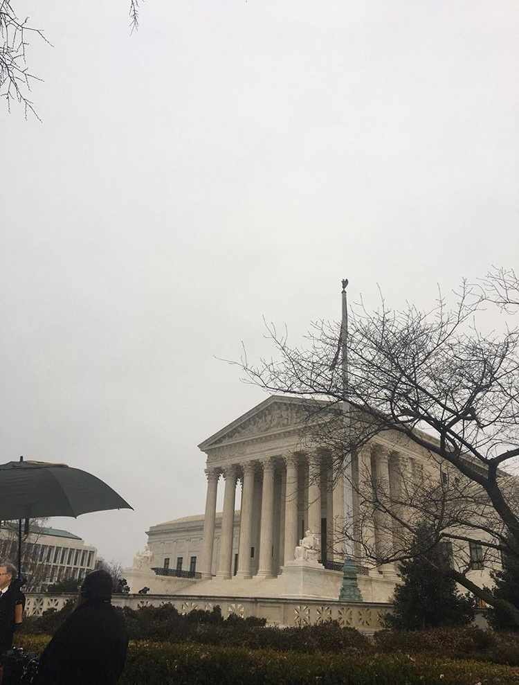 Photo of the Supreme Court building taken by Julia Cunningham