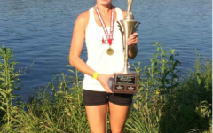 Mrs.Kim after winning Masters Nationals 2017 in Rowing.