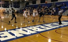 Photo from a girls Varsity game taken by Madison Kellmel.