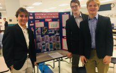 Photo was taken at the West Po Science Fair in January