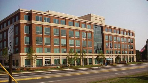This is the South County Government Center, a local testing site for our area.