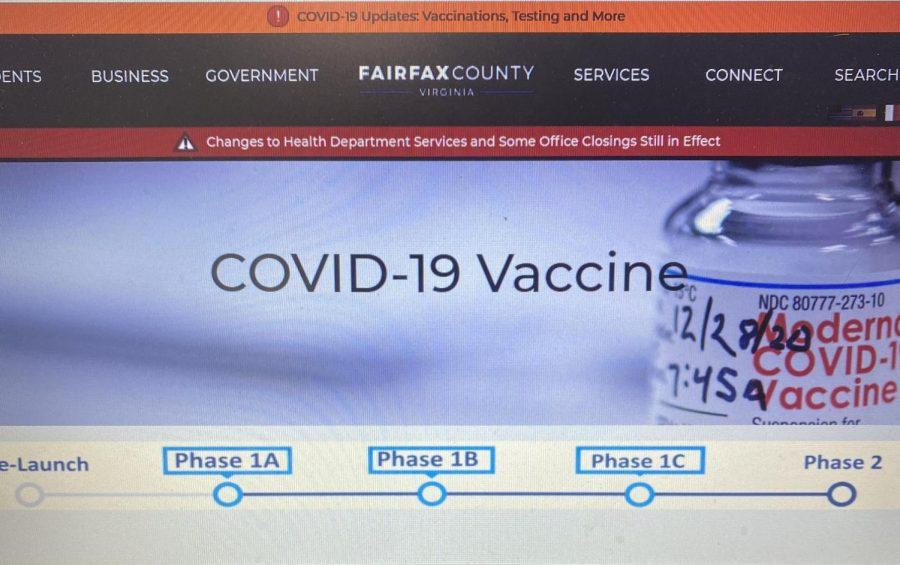 Fairfax County Begins Phase 2 of Vaccine Rollout