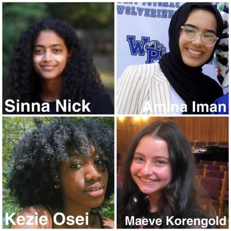 Profiles of the student leaders of the coalition pictured.
